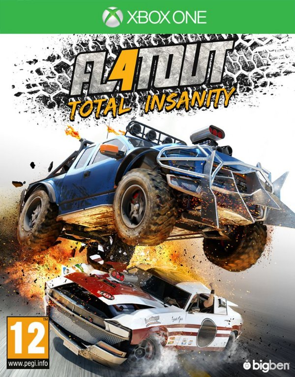 FlatOut 4: Total Insanity - Xbox One - Mídia Digital
