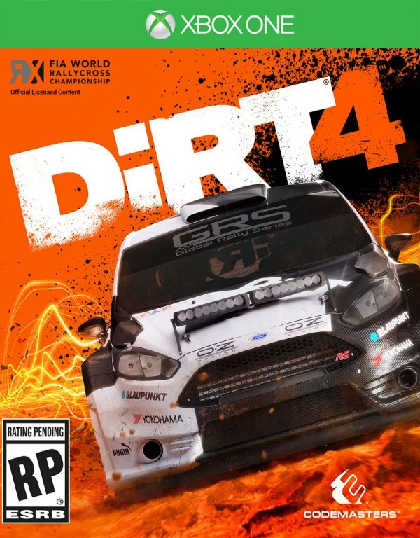 DiRT 4 - Xbox One - Mídia Digital