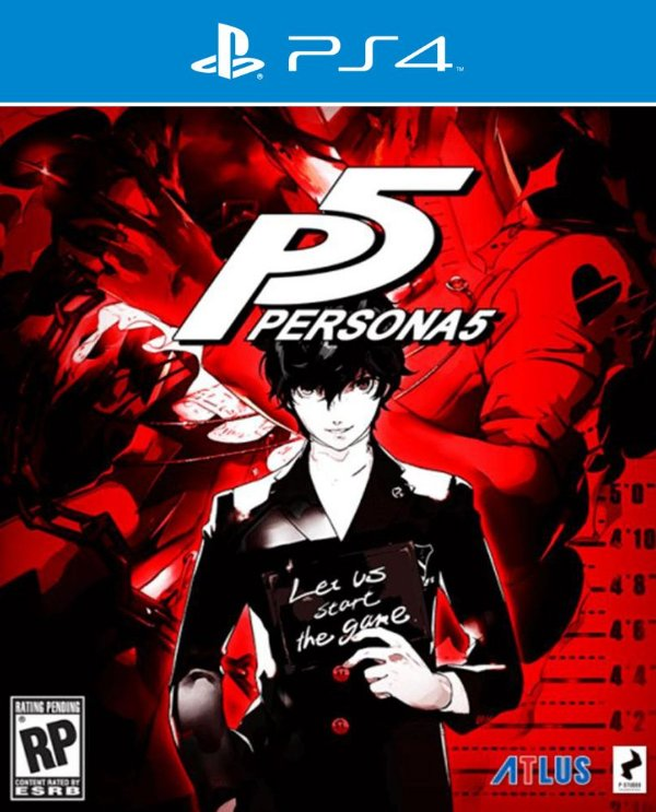 Persona 5 - Ps4 - Mídia Digital