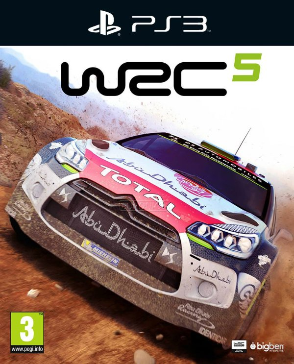 WRC 5: FIA World Rally Championship - Ps3 - Mídia Digital