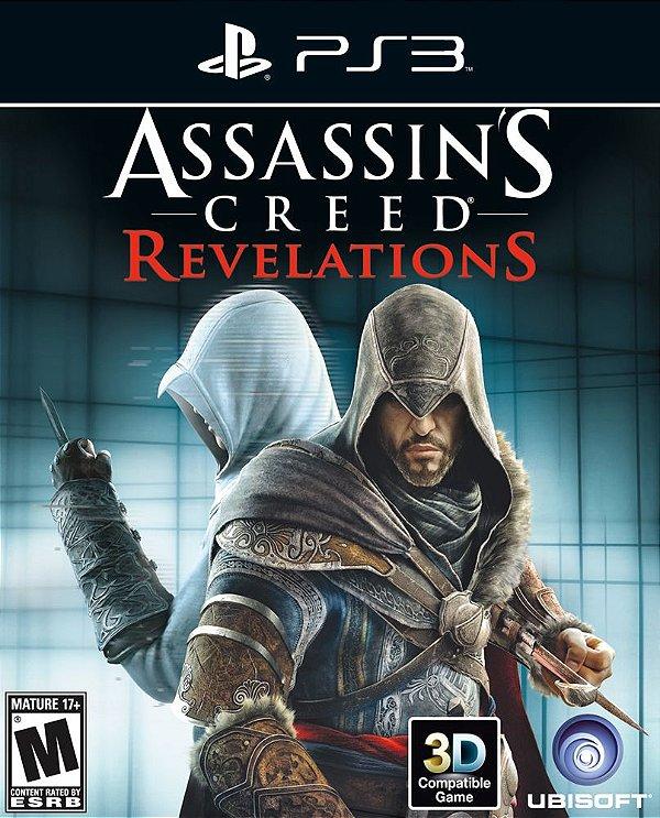 Assassin's Creed: Revelations - Ps3 - Mídia Digital