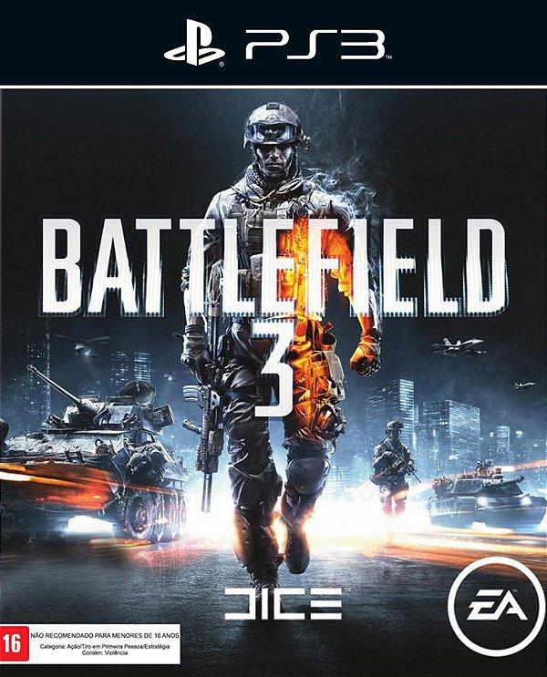 Battlefield 3 - Ps3 - Mídia Digital