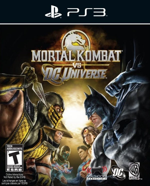 Mortal Kombat vs. DC Universe - Ps3 - Mídia Digital