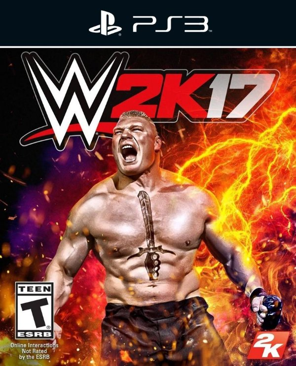 WWE 2K17 - Ps3 - Mídia Digital