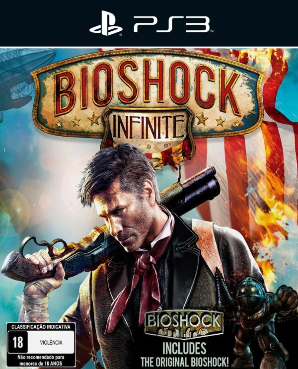 BioShock Infinite - Ps3 - Mídia Digital