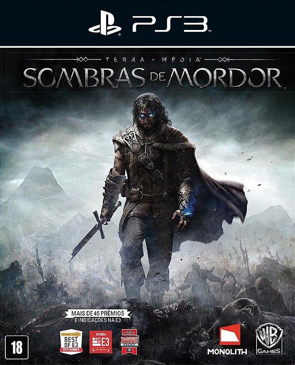 Middle-earth: Shadow of Mordor - Ps3 - Mídia Digital
