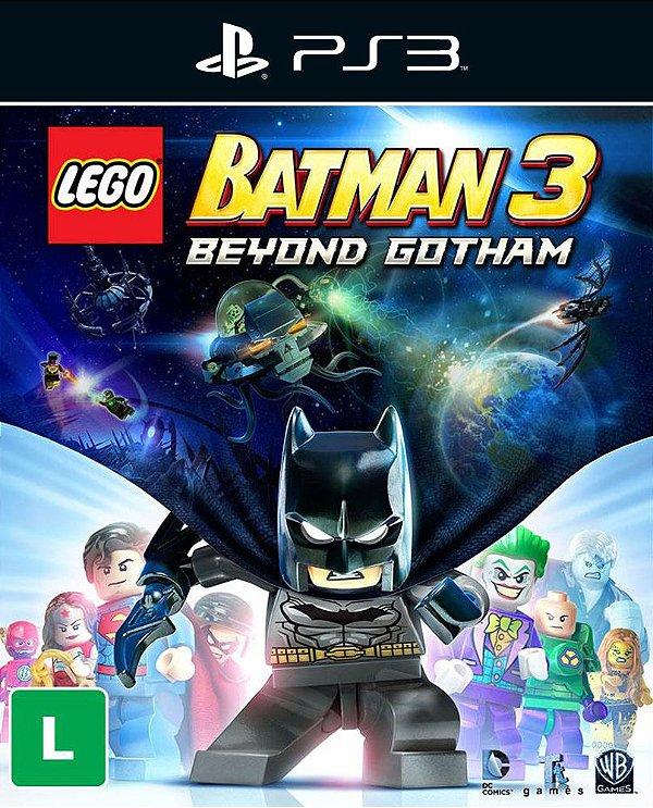 Lego Batman 3: Beyond Gotham - Ps3 - Mídia Digital
