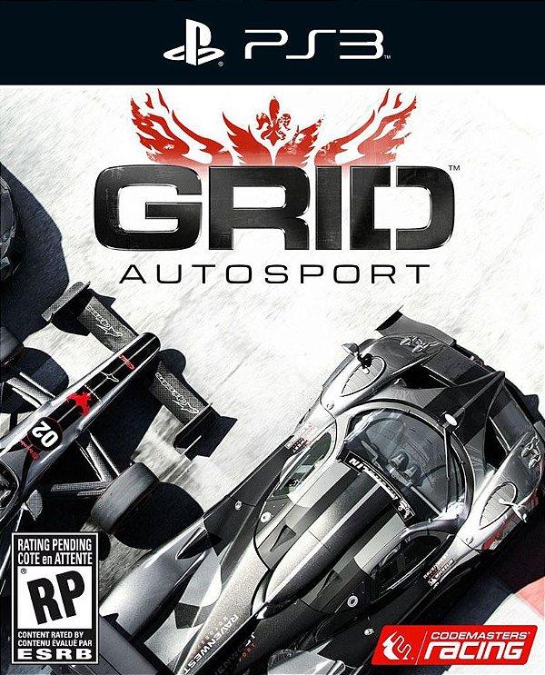 Grid Autosport - Ps3 - Mídia Digital