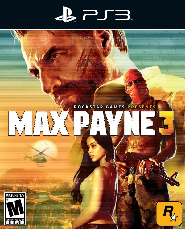 Max Payne 3 - Ps3 - Mídia Digital