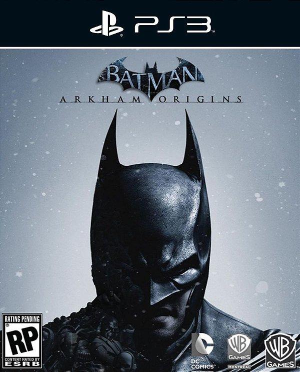 Batman: Arkham Origins - Ps3 - Mídia Digital