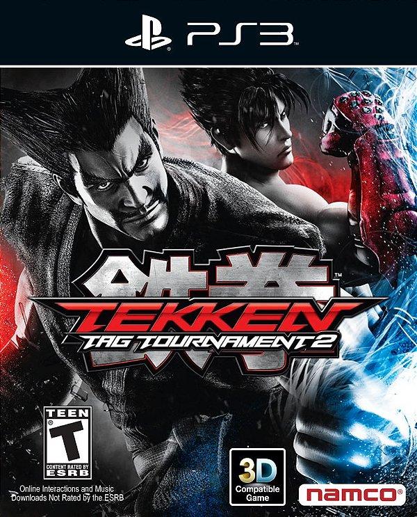 Tekken Tag Tournament 2 - Ps3 - Mídia Digital