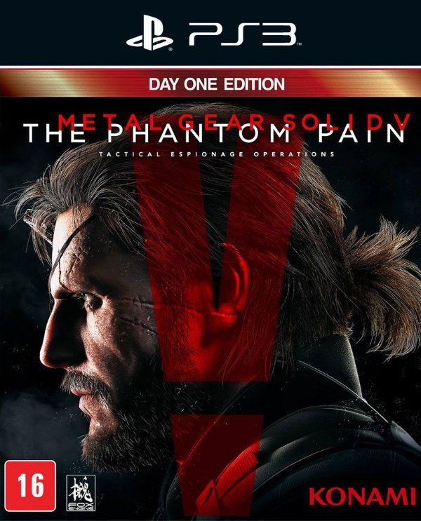 Metal Gear Solid V: The Phantom Pain - Ps3 - Mídia Digital