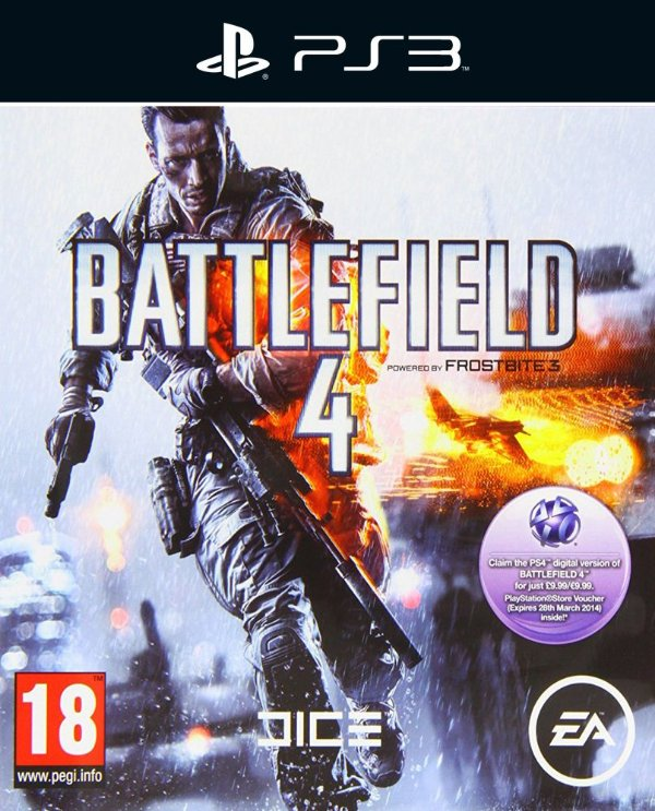 Battlefield 4 - Ps3 - Mìdia Digital
