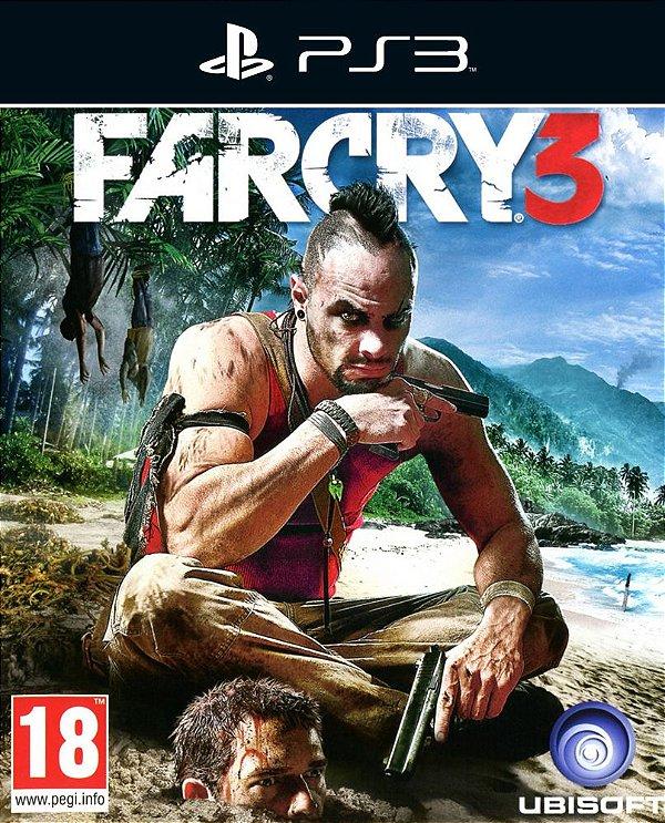 Far Cry 3 - Ps3 - Mídia Digital
