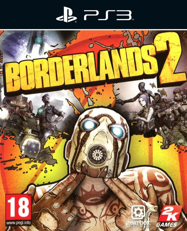 Borderlands 2 - Ps3 - Mídia Digital