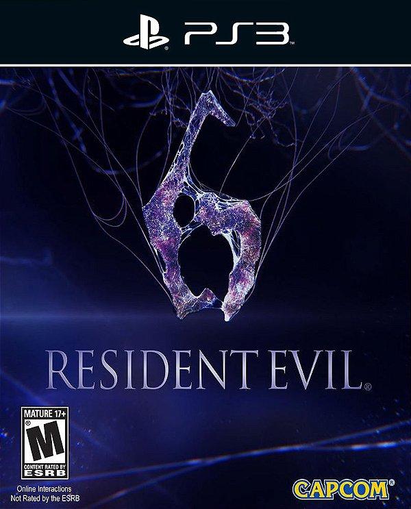 Resident Evil 6 - Ps3 - Mìdia Digital