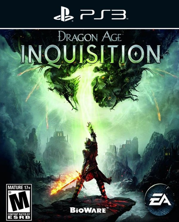 Dragon Age: Inquisition - Ps3 - Mídia Digital