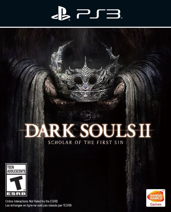 Dark Souls 2 Scholar Of The First Sin - Ps3 - Mídia Digital