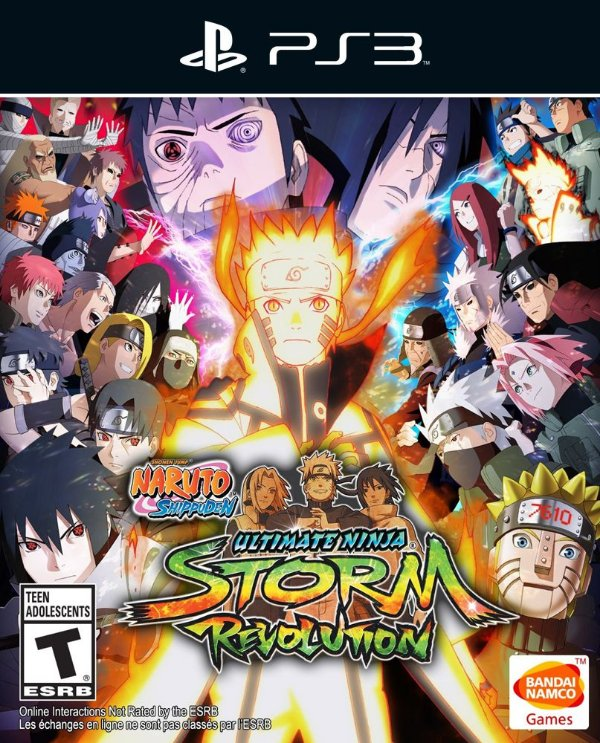 Naruto Shippuden: Ultimate Ninja Storm Revolution - Ps3 - Mídia Digital