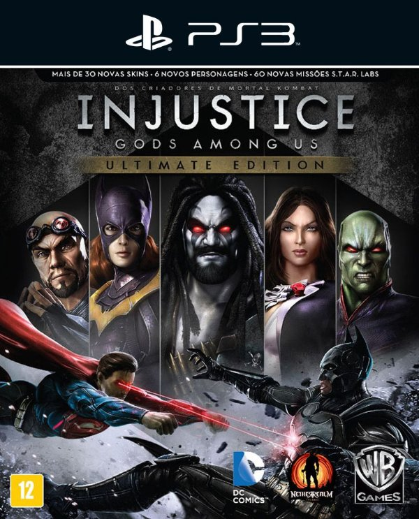 Injustice: Gods Among Us Ultimate Edition - Ps3 - Mídia Digital