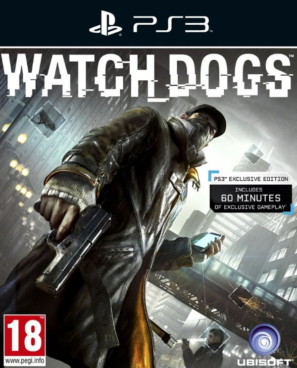 Watch Dogs - Ps3 - Mídia Digital