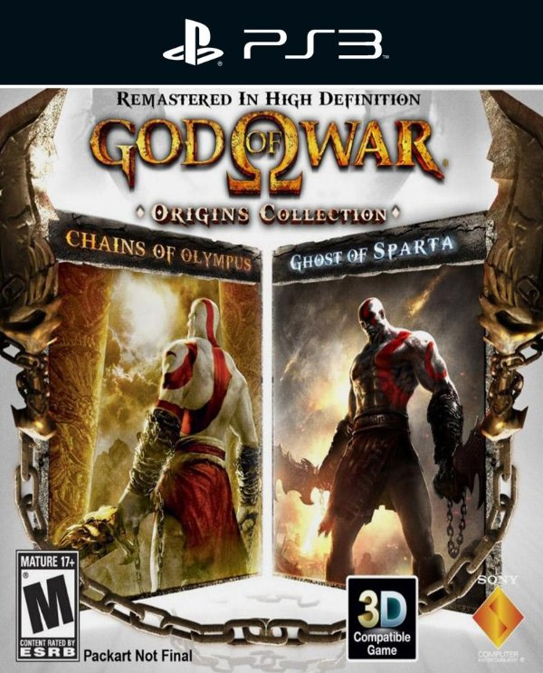 God of War: Origins Collection - Ps3 - Mídia Digital