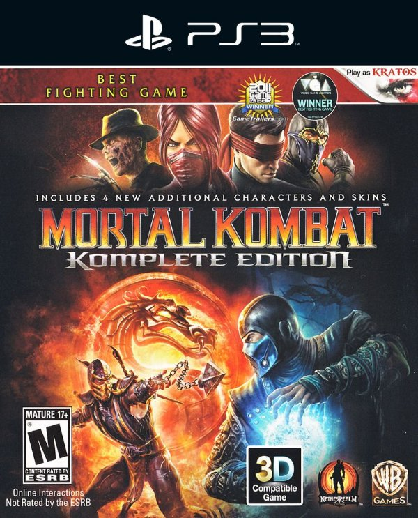 Mortal Kombat Komplete Edition - Ps3 - Mídia Digital