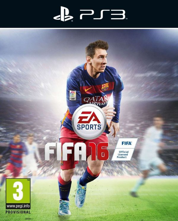 Fifa 16 - Ps3 - Mídia Digital