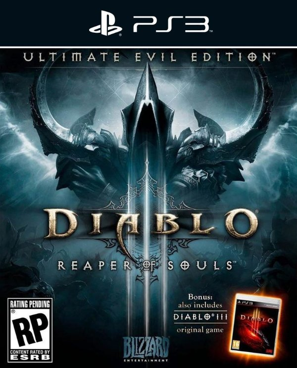 Diablo III: Reaper of Souls - Ps3 - Mídia Digital