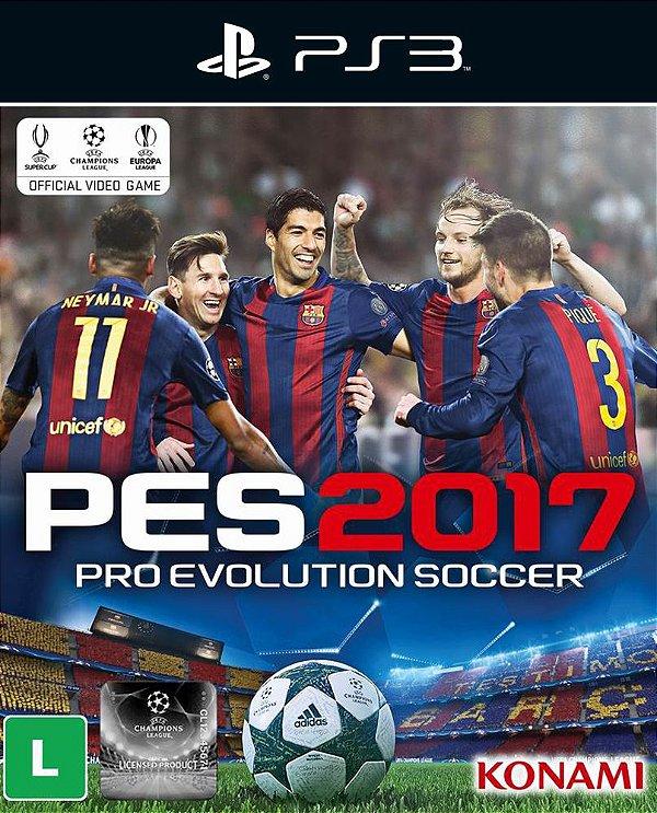 Pro Evolution Soccer 2017 - Ps3 - Mídia Digital