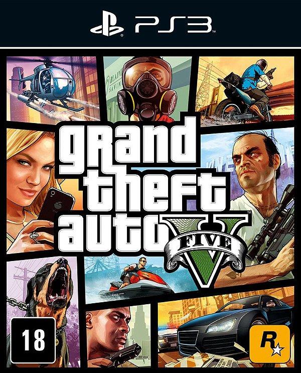 Grand Theft Auto V - Ps3 - Mídia Digital
