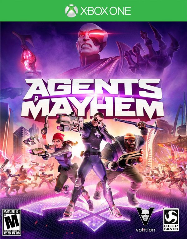 Agents of Mayhem - Xbox One - Mídia Digital