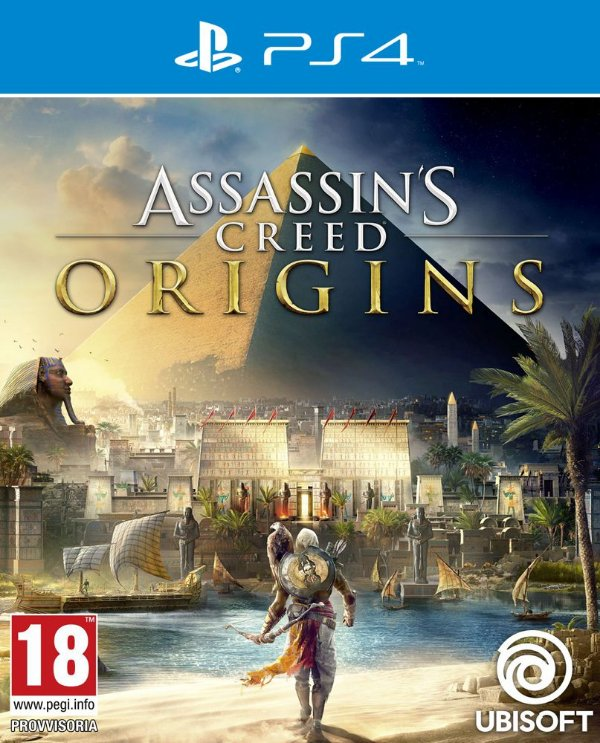 Assassins Creed Origins - Ps4 - Mídia Digital