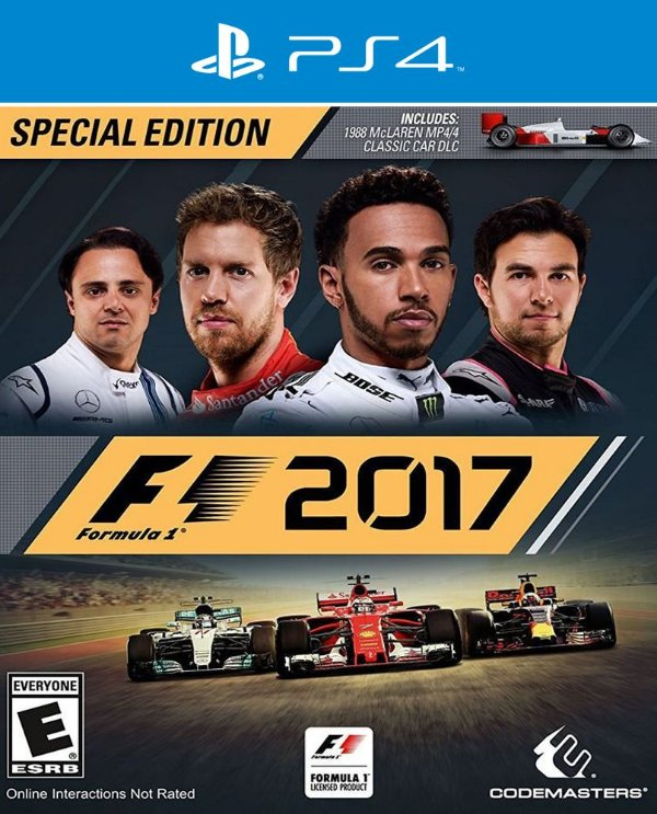 F1 2017 - Ps4 - Mídia Digital
