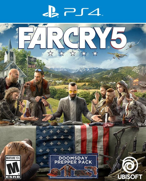 Far Cry 5 - PS4 - Mídia Digital