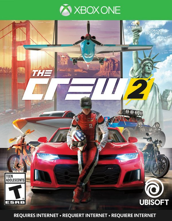The Crew 2 - Xbox One - Mídia Digital