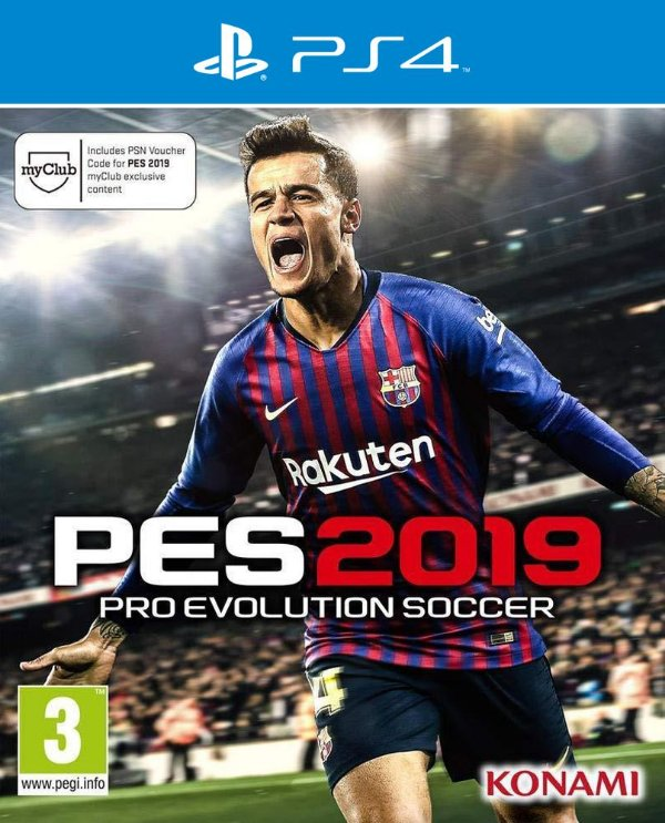 PES 2019: Pro Evolution Soccer - PS4 - Mídia Digital