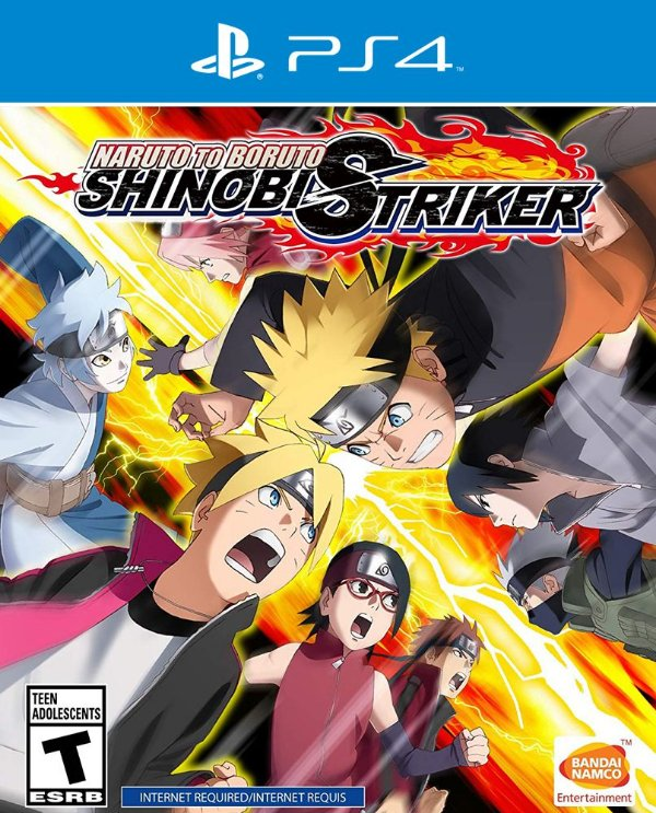 Naruto to Boruto: Shinobi Striker - PS4 - Mídia Digital