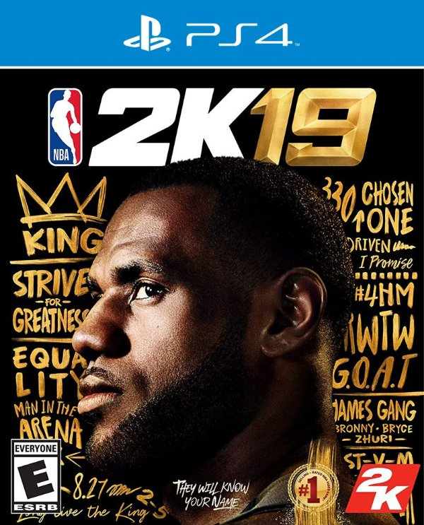 NBA 2K19 - PS4 - Mídia Digital