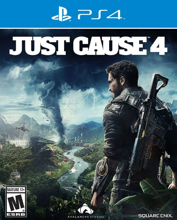 Just Cause 4 - PS4 - Mídia Digital