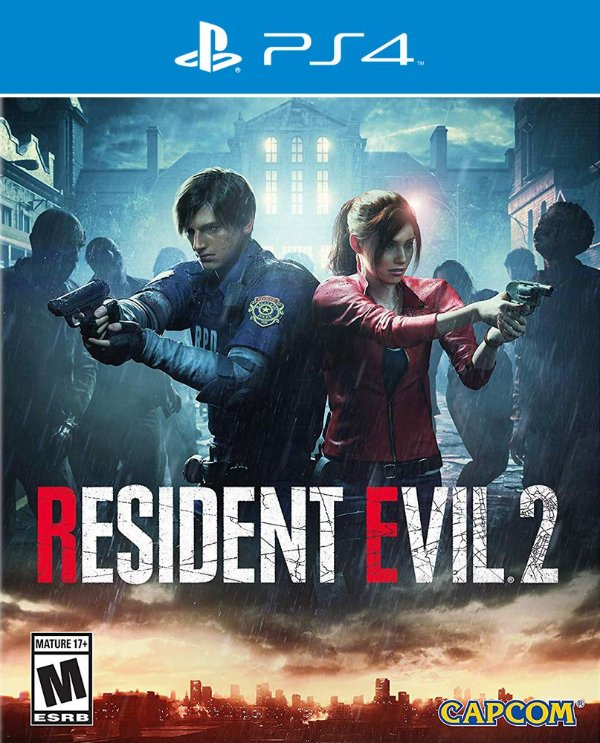 Resident Evil 2 - PS4 - Mídia Digital