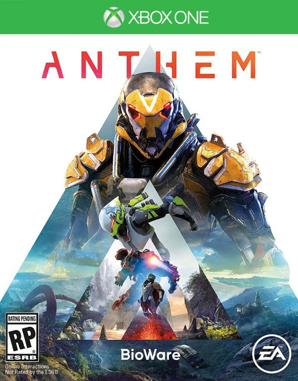 Anthem - Xbox One - Mídia Digital