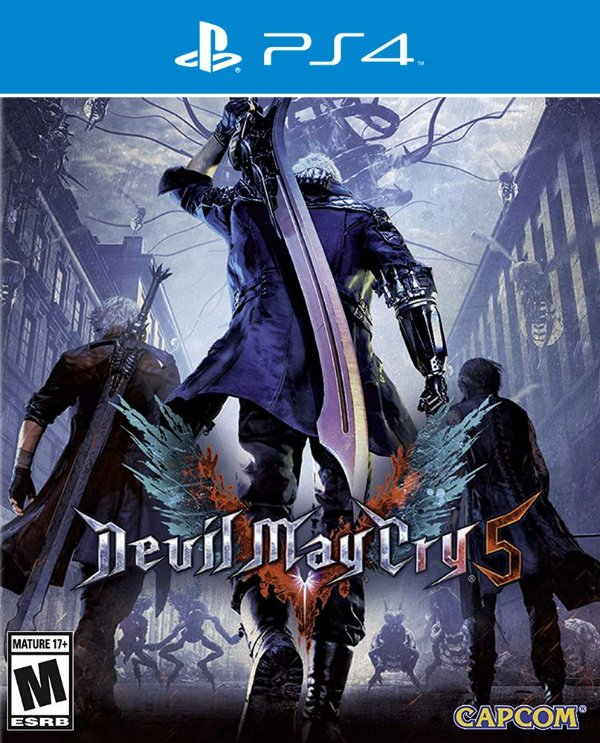 Devil May Cry 5 - PS4 - Mídia Digital