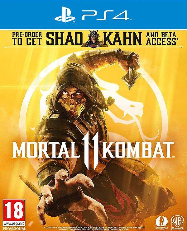 Mortal Kombat 11 - PS4 - Mídia Digital