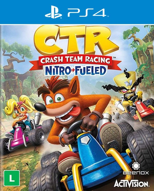 Crash Team Racing Nitro-Fueled - PS4 - Mídia Digital