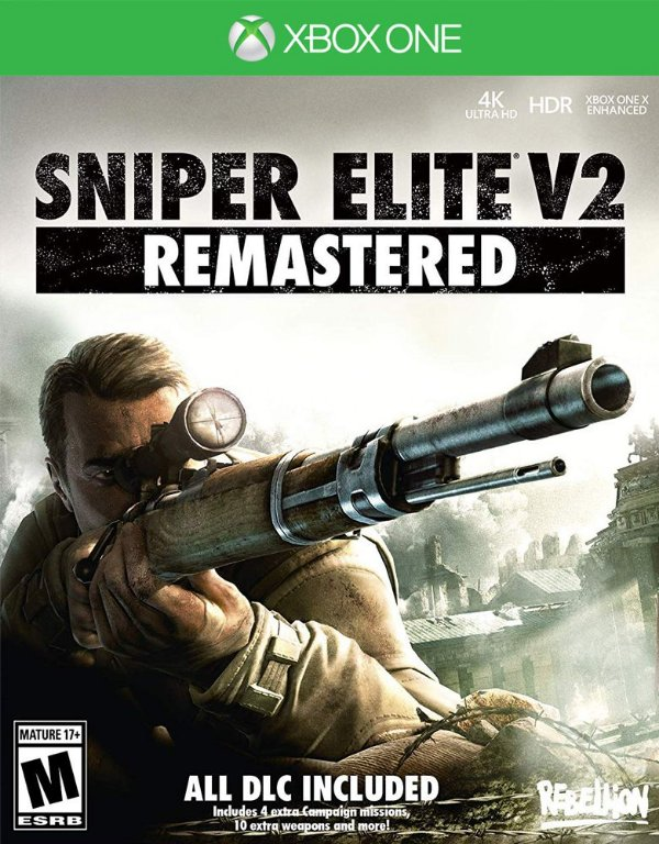 Sniper Elite V2 Remastered - Xbox One - Mídia Digital