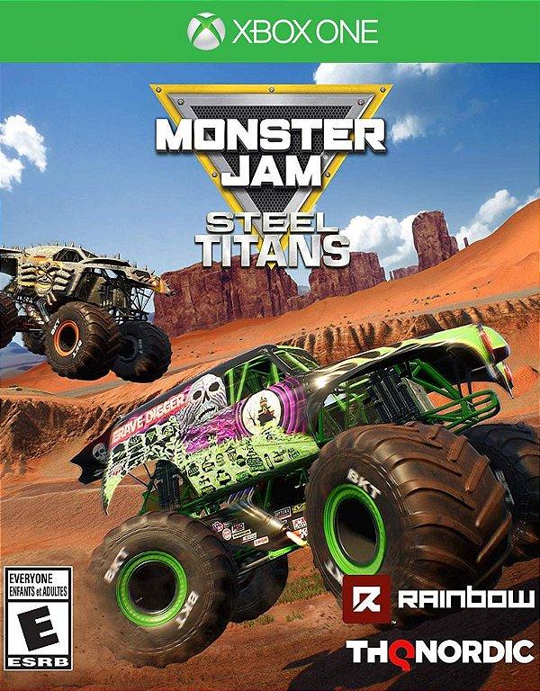 Monster Jam: Steel Titans - Xbox One - Mídia Digital