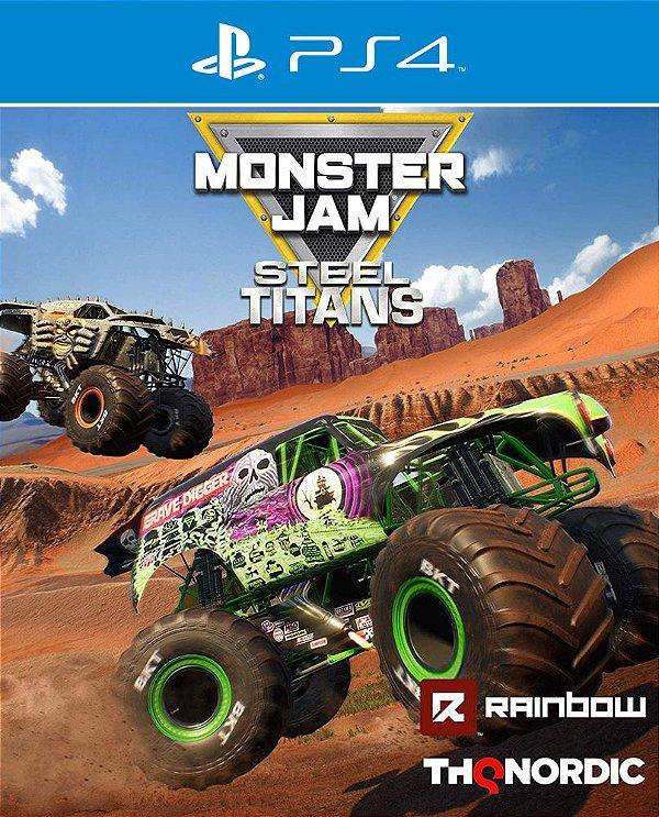 Monster Jam: Steel Titans - PS4 - Mídia Digital