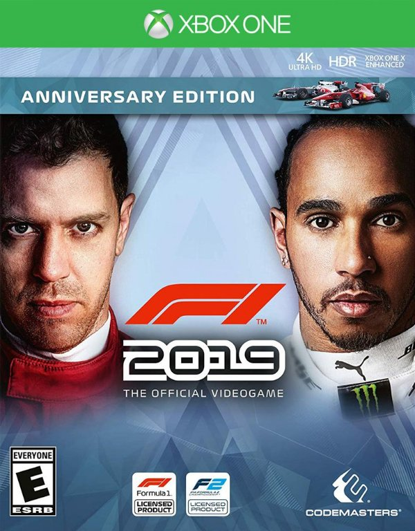 F1 2019 - Xbox One - Mídia Digital