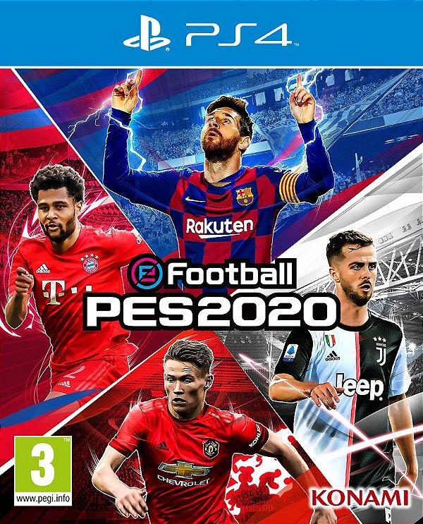 PES 2020 - PS4 - Mídia Digital